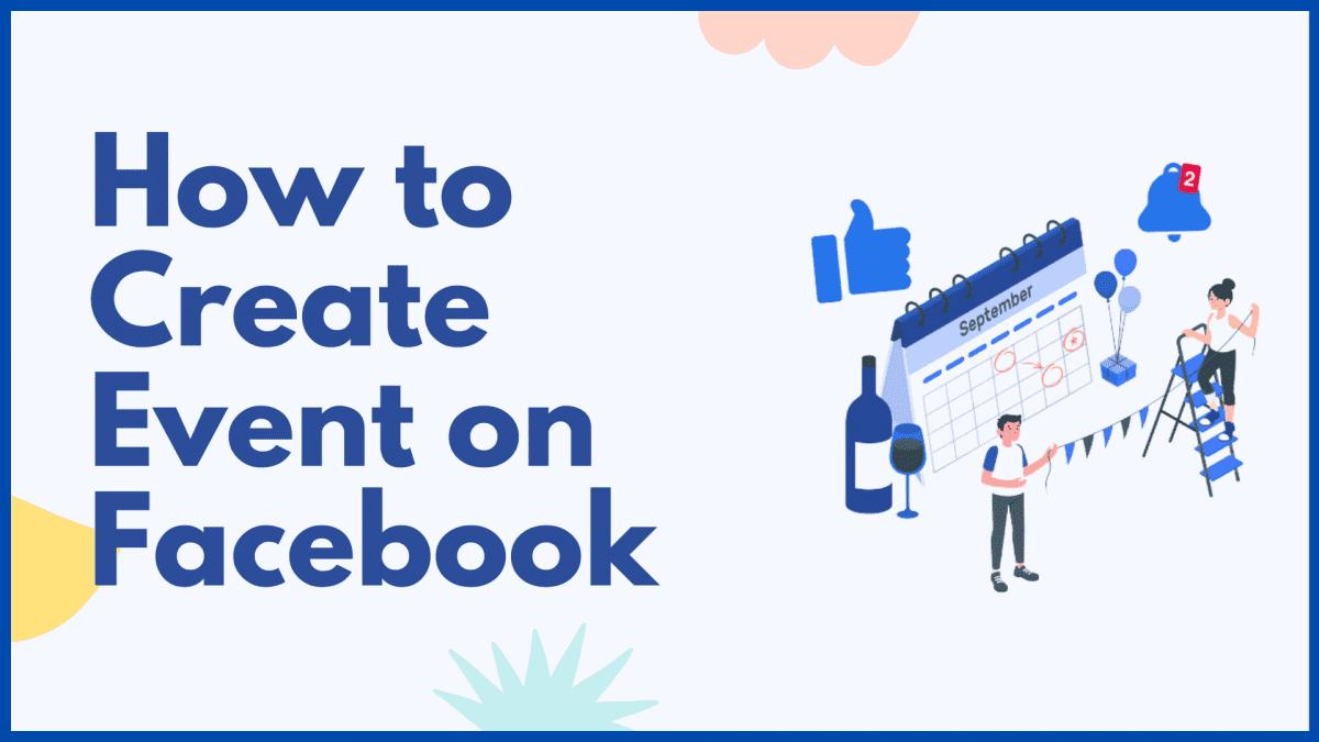 Create event on Facebook