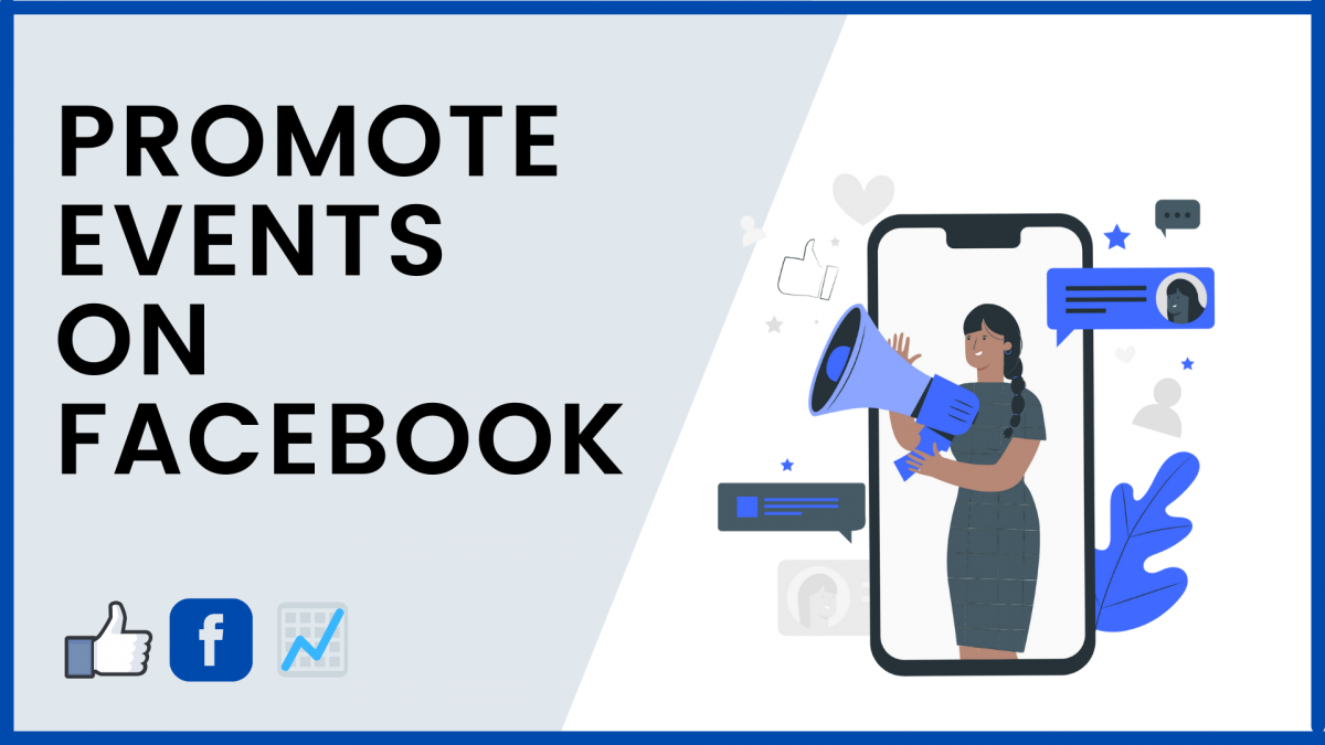 Promote events on Facebook